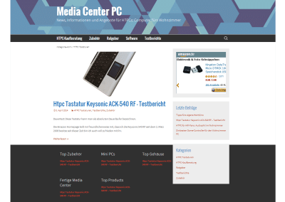 Media Center Computer