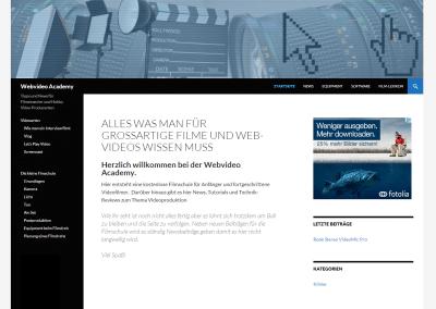 Webvideo Academy