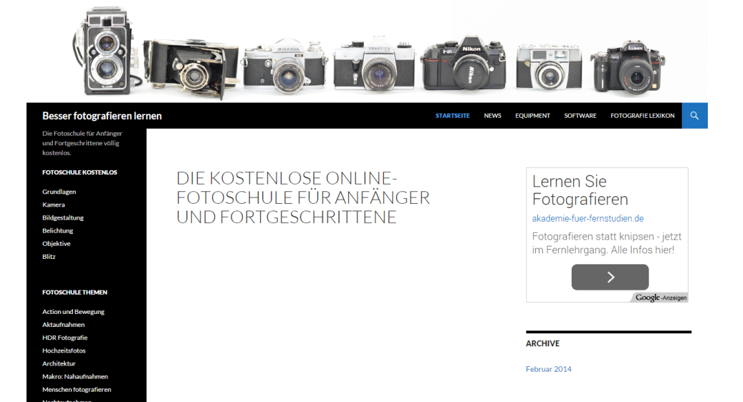 Website: besser-fotografieren-lernen.de