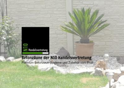 Redesign für Betonzaun-Neu 2016